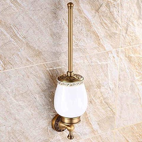 Adelaide - stile toilette titolare europeo e americano scopino tazza wc set da bagno verde (Cina Tazze Set)