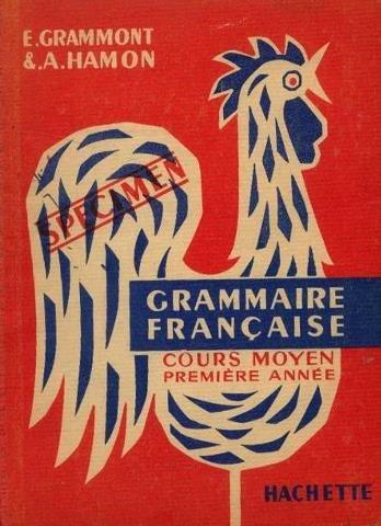 Grammaire franaise. cours moyen 1re anne.