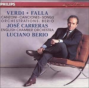 Verdi / Falla: Songs,  Orchestrations