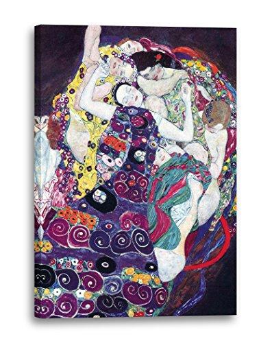Gustav Klimt - Die Jungfrau (1913), 80 x 120 cm (weitere Größen verfügbar), Leinwand auf...