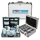 Sport-Thieme Erste-Hilfe-Koffer mit Inhalt | Alu Sanitätskoffer für Fussball, Handball, Sport |...