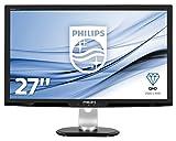 Philips 273P3LPHEB/00 68,6 cm (27 Zoll) Monitor (VGA, DVI, HDMI, USB, 1920 x 1080, 60 Hz, 1ms Reaktionszeit, Pivot) schwarz