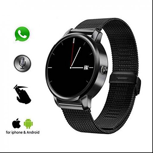 51nS9WJF HL. SS500  - Animanp Bluetooth GPS Tracker smart watch,Appearance vogue,HD Display Screen,Calorie Counter Sport Watch,Step Tracker/Calorie,Works with Apple iOS,Android with Notifications