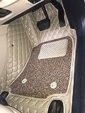 #8: Coozo 7D Car Mats For Honda City (Beige) 2017