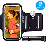 Mpow Running Armband Sweatproof Running Phone Armband Sports Armband with Key Holder and Extension Strap, Suitable for iPhone X 8/7/ 6S/ 6