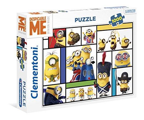 Clementoni 39407-Puzzle Minions