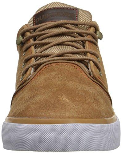 Quiksilver Griffin FG Suede - Chaussures mi-hautes pour homme AQYS300004 Marron - Brown/Brown/Orange