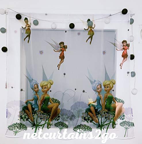 Polontex Gardinen Tinkerbell 300cm B x 150cm L Kinderzimmer Vorhang Disney EISONIGIN