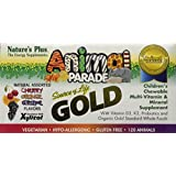 Animal Parade Gold, Children's Chewable Multi-Vitamin & Mineral, Assorted Flavours, 120 Animals