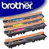 Original Brother Toner Set (TN-242BK TN-242C TN-242M TN-242Y) für Brother DCP-9017CDW DCP-9022CDW HL-3152CDW HL-3172CDW HL-3142CW MFC-9142CDN MFC-9332CDW MFC-9342CDW - TN242 TN-242 Tonerkit Bulk / 4er Multipack Tonerset Neutrale Verpackung