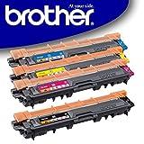 Original Brother Toner Set (TN-242BK TN-242C TN-242M TN-242Y) für Brother DCP-9017CDW DCP-9022CDW HL-3152CDW HL-3172CDW HL-3142CW MFC-9142CDN MFC-9332CDW MFC-9342CDW