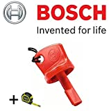 Bosch Rotak Original Red Isolator Schlüssel (Version zu Passform: Rotak schnurlose Rasenmäher) C/W Stanley Tafel (Abbildung) + Cadbury Schokoriegel