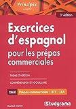 Exercices d'espagnol pour les prépas commerciales