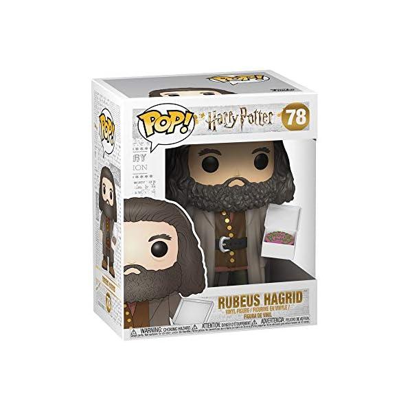 Funko Pop Hagrid con pastel (Harry Potter 78) Funko Pop Harry Potter
