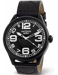 Reloj correa piel,cuarzo y resistente al agua de Antonio Miró