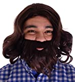 Best Simplicity Costumes - Simplicity Jesus Brown Full Wavy Wig With Beard Review