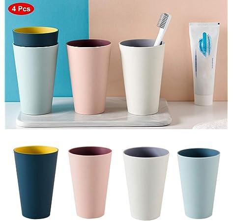 Zahnputzbecher Badezimmer-Emulsionsbeh/älter a Tuof Keramik-Bambusbecher