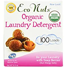 Eco Nuts, Organic Laundry Soap, Fragrance Free, 6.5 oz