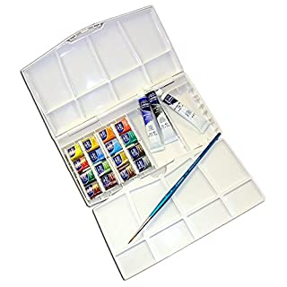Winsor & Newton Caja plástica de 16 medio Godets y 3 tubos (B000PD3LYE) | Amazon price tracker / tracking, Amazon price history charts, Amazon price watches, Amazon price drop alerts