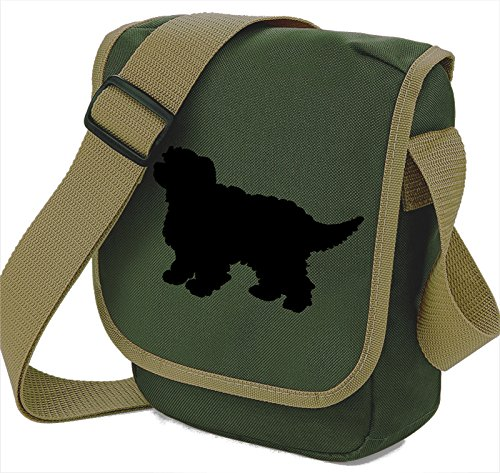 Bag Pixie - Borsa a tracolla unisex adulti Black Dog Olive Bag