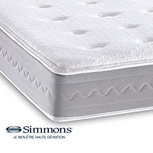sirah matelas ressorts ensach s simmons 140x200cm alinea cuisine maison. Black Bedroom Furniture Sets. Home Design Ideas