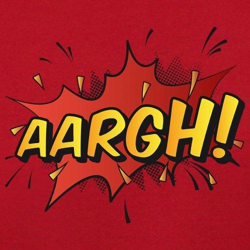 Superheld Aargh - Herren T-Shirt - 13 Farben Rot