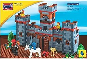 Toy Corner Peacock_Castle_Set_Smart_Blocks