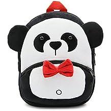 Gosear Fumetto Bambini Bambino Piccolo Morbido Peluche Zaino Scuola Borsa Zaino per Ragazzo Ragazza Regalo Borsa Panda