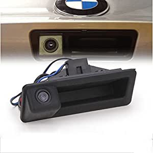 maya 170 degree car trunk handle backup camera rear view. Black Bedroom Furniture Sets. Home Design Ideas