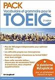 Pack Vocabulaire et grammaire pour le TOEIC 2e édition + la plateforme MyEnglishLab pour un entraînement interactif en ligne