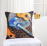 Digital Print Kinder Kissen Decken Handgefertigte 18 X 18 Zoll 1 Stück 100 % Baumwolle, Kcc181-135-Gitarre