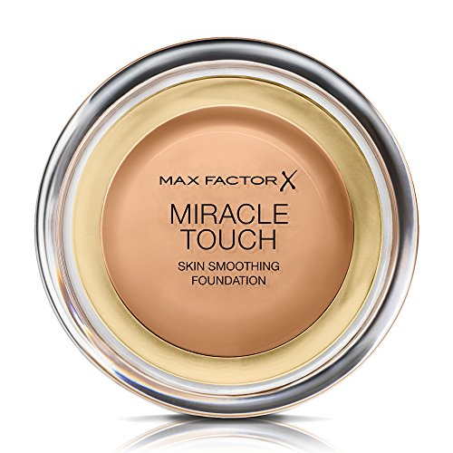 Max factor - Miracle touch foundation, base de maquillaje, color 80 bronce (12 ml)