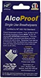 Travelspot AlcoProof 92893 Alcohol Breathalyser, Set of 2