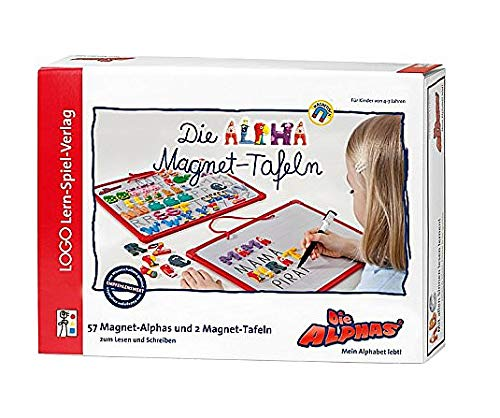 Logo Lern-Spiel-Verlag Die Alpha Magnet-Tafeln