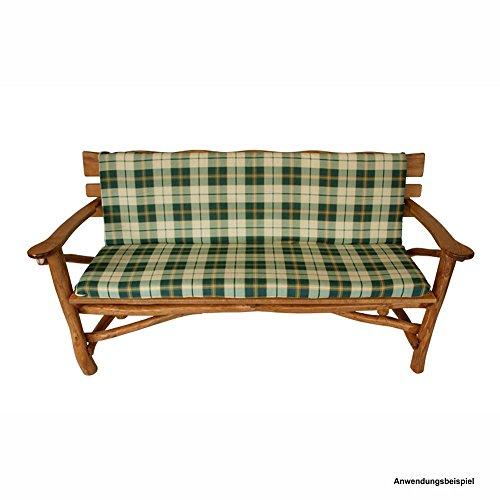Auflage Arizona Gartenbank 3-Sitzer 140x88x7cm Bankauflage Polsterauflage