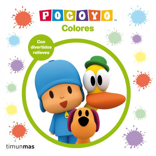 Pocoyo. Colores: Libro con relieve (Libros con relieve)