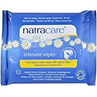 Organic Cotton Intimate Wipes - 12wipes