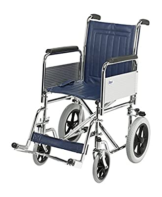 Days Transit Wheel Chair Narrow Detachable Arms and Foot Rest