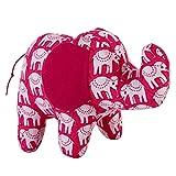 NeedyBee Soft Stuffed Animal Plush Elephant Toy for Kids/Baby (Small Size)