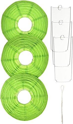 Amscan Green Round Paper Lanterns