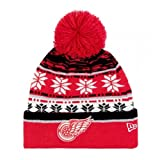 New Era Cuff Knit Team Wintermütze One size Red