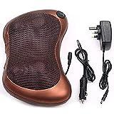 Concepta Massage Pillow with Heat Balls and Car Adapter, Neck Massager Shoulder Massager