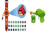 #10: Arvel™ Unique Gift Sets Best Festive Season Offer Only At Amaon! (AngryBird+BubbleGun)