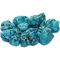 Türkenit (Magnesit gefärbt) Trommelstein 25 - 30 mm groß, Edelstein getrommelt preisvergleich bei billige-tabletten.eu