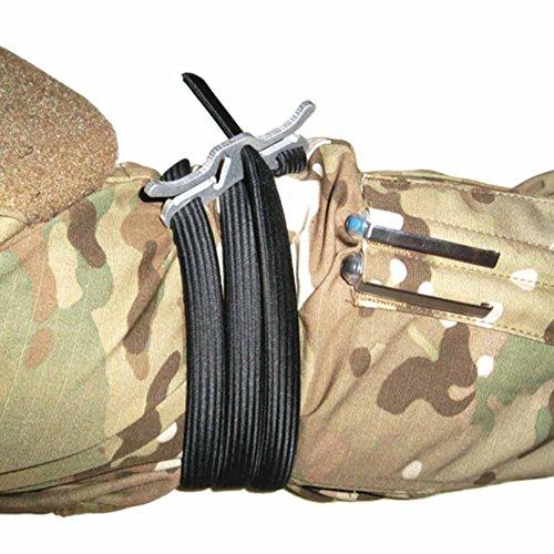 Zdmathe Outdoor Camping Survie EDC élastique corde rapide tourniquet tactique