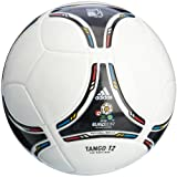 adidas Fußball EURO 2012 Top Replique, white/black, 5, X18256