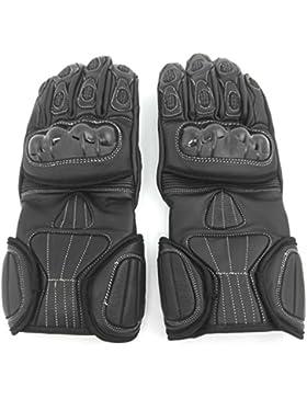 Zerimar Leder Motorrad Handschuhe schutzhandschuhe für Motorrad aus leder lederhandschuhe mit schutz 100% natürlich