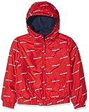 Tommy Hilfiger Jungen Jacke Essential Reversible Hooded Jacket, Rot (Lollipop 633), 164 (Herstellergröße: 14)
