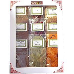 Authentic Indian Spice Gift Set Curry Spice KIT - Makes UP to 24 CURRIES - Quality Spices with Free Post 7
