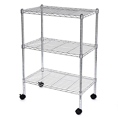 songmics-chrome-wire-shelves-storage-racking-rolling-cart-load-capacity-up-to-90-kg-max-for-kitchen-